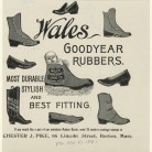 Wales Goodyear rubbers advertisement