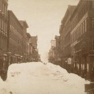 Hartford, Asylum Street looking east from Trumbull Street