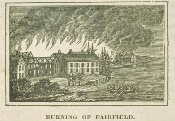 Burning of Fairfield