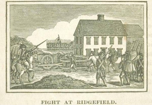 Battle at Ridgefield - April 27, 1777