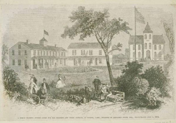 Fitch's Home for Soldiers, ca. 1864