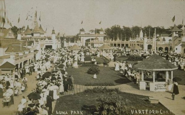 The midway, circa 1908