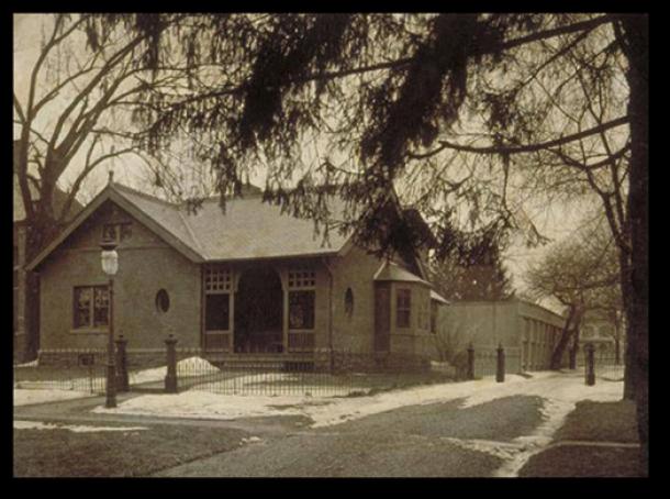 Tomlinson Cottage, Retreat for the Insane, Hartford