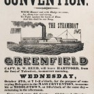 Temperance convention broadside, 1841