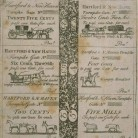 Hartford and New Haven Turnpike tickets, 1801