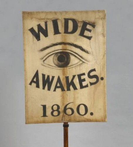 Wide Awakes banner