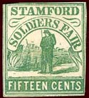 Stamford Soldiers Fair Sanitary Stamp