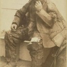 Leatherman in Wallingford, 1880s