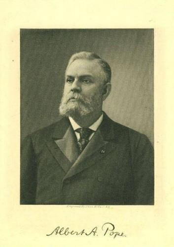 Albert A. Pope, 1900