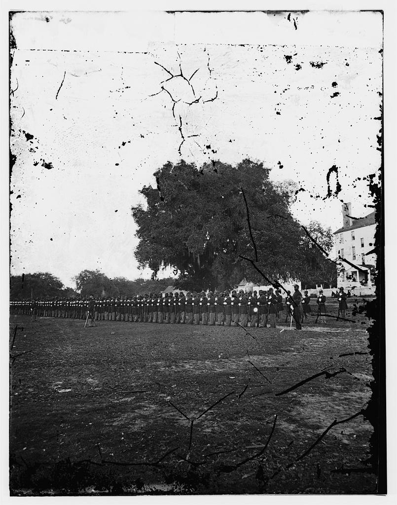 29th Regiment Connecticut Volunteers, Beaufort, South Carolina