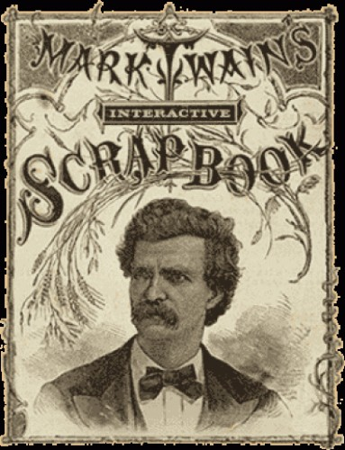 Mark Twain's Interactive Scrap Book on ConnecticutHistory.org