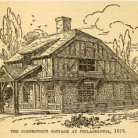 The Connecticut Cottage at the 1876 Centennial Exhibition