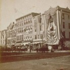 Battle Flag Day on Main Street, September 1879