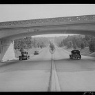 Merritt Parkway to New Haven, 1941