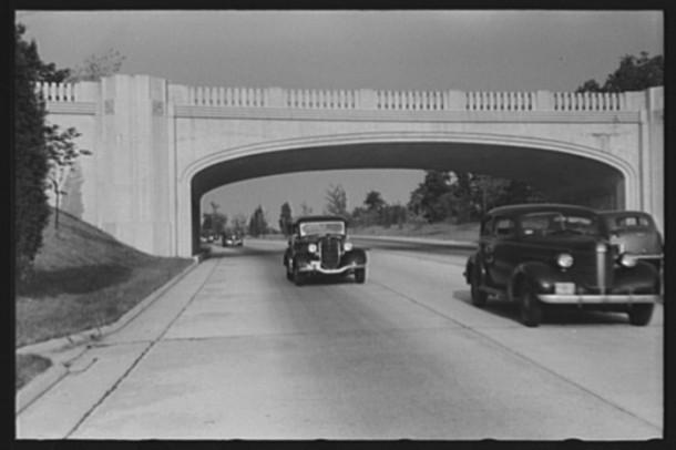 Merritt Parkway, New York to Connecticut, 1941
