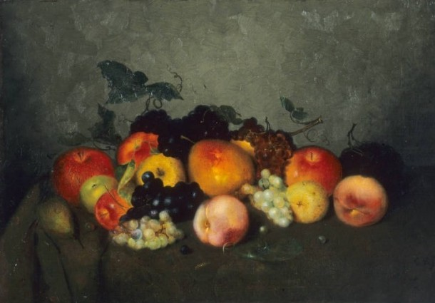 Charles Ethan Porter, Fruit: Apples, Grapes, Peaches, and Pears