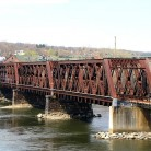 Railroad Trestle over the Housatonic River, Derby