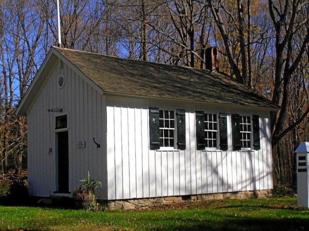 Adams Schoolhouse, Easton