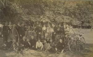 The Columbia Cycle Club, Hartford, 1890