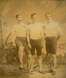 The Hartford Wheel Club racing team, Hartford, 1886