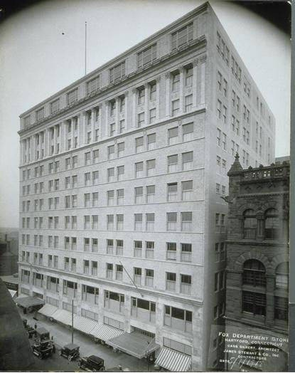 G. Fox Department Store, Main Street, Hartford