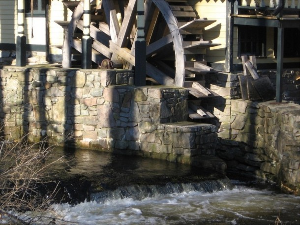 Former Grist Mill site, North Stonington