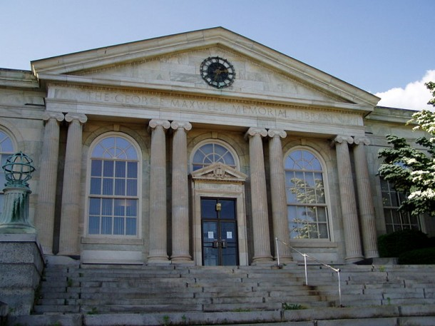 The George Maxwell Memorial Library, Vernon