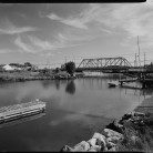 Singing Bridge, U.S. Route 1, over Patchogue River, Westbrook