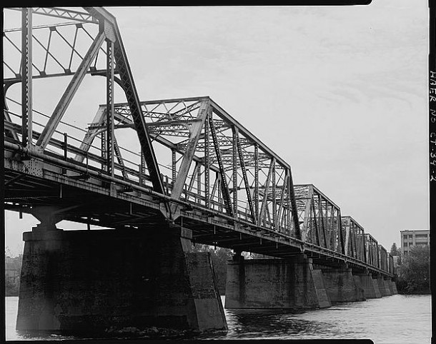Bridge Street Bridge, Spanning Connecticut River, Windsor Locks
