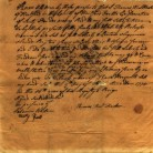 Manumission document for slave Bristow, from Thomas Hart Hooker, Hartford