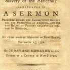 A printed sermon by Jonathan Edwards Jr., 1791