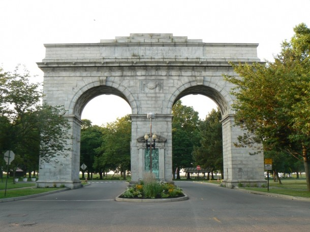 Perry Memorial Arch, Seaside Park, Bridgeport