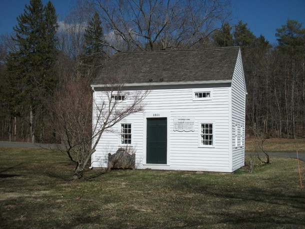 Childhood home of Captain William D. Burnham, Bridgewater