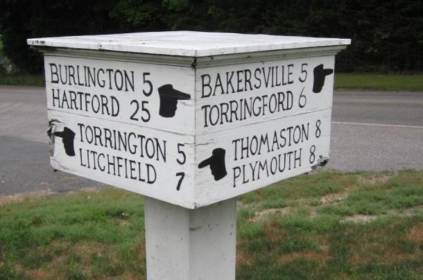 Signpost, Harwinton