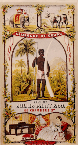 Catalogue cover for Julius Pratt & Co. goods
