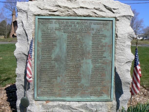 War Memorial Boulder, Northford