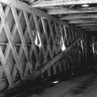 Interior West Cornwall Covered Bridge