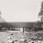 West Cornwall Covered Bridge, ca. 1945
