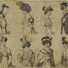 Hats and bonnets, ca. 1805