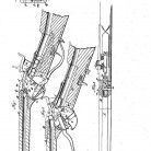 Magazine gun, patented March 6, 1860