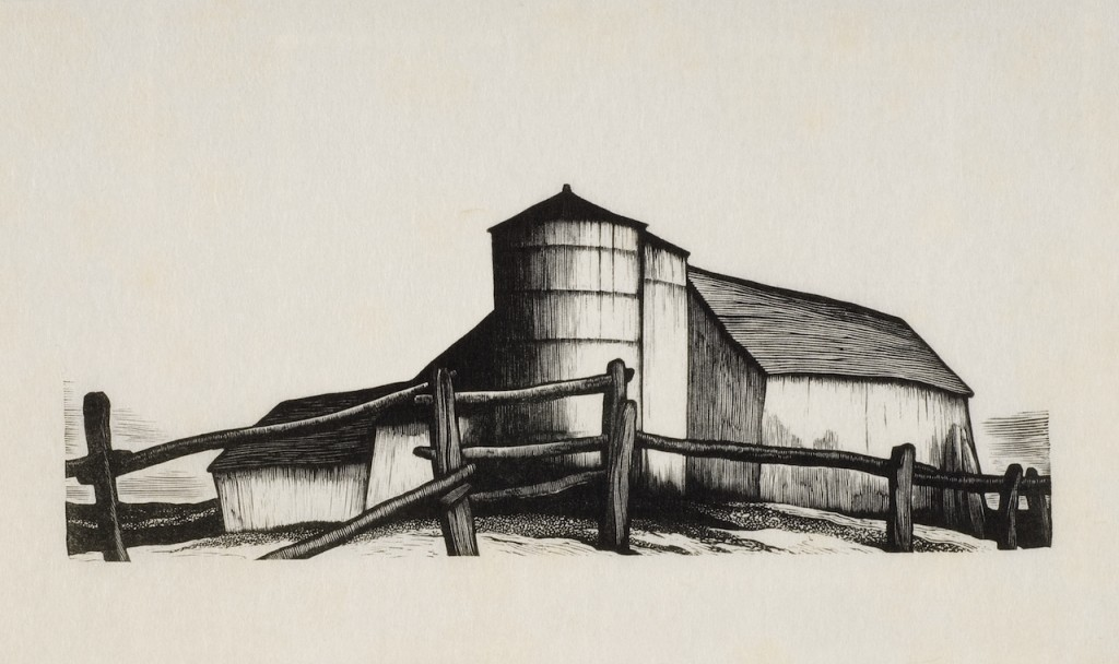 Thomas Nason, Farm Buildings