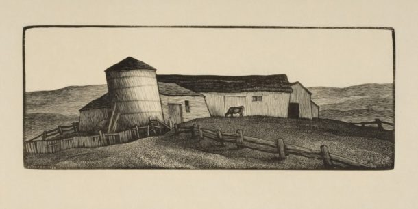 Thomas Nason, The Leaning Silo