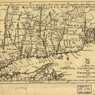 A map of Connecticut and Rhode Island, 1776
