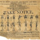 Broadside Soliciting Recruits for the Continental Army