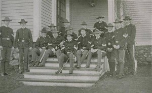 Connecticut Agricultural College cadet officers