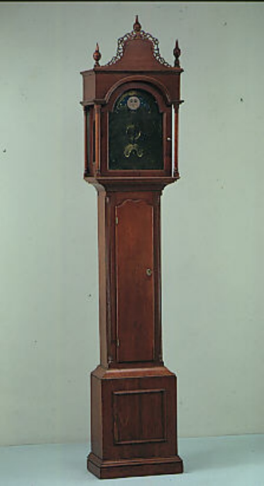 Tall clock by Eli Terry