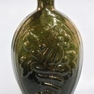 Flask attributed to the Coventry Glass Works