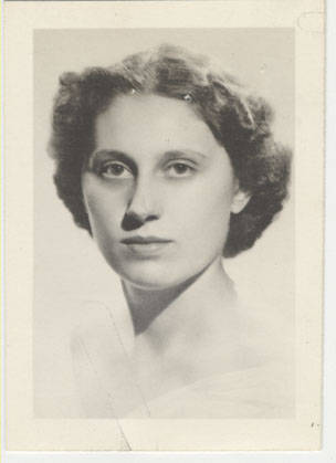 Yearbook portrait of Ella T. Grasso, class of 1940