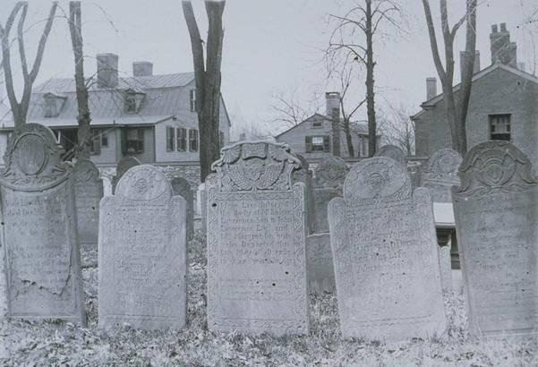 Gravestones, Old Burying Ground, Hartford