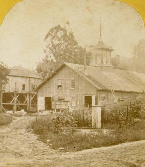 Brainard & Cooke Feldspar Mill, Higganum
